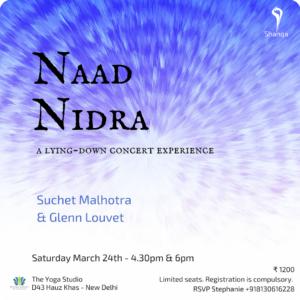 Naad Nidra @ The yoga studio | New Delhi | Delhi | India