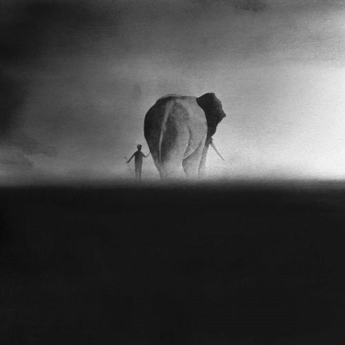 elephant and cornac
